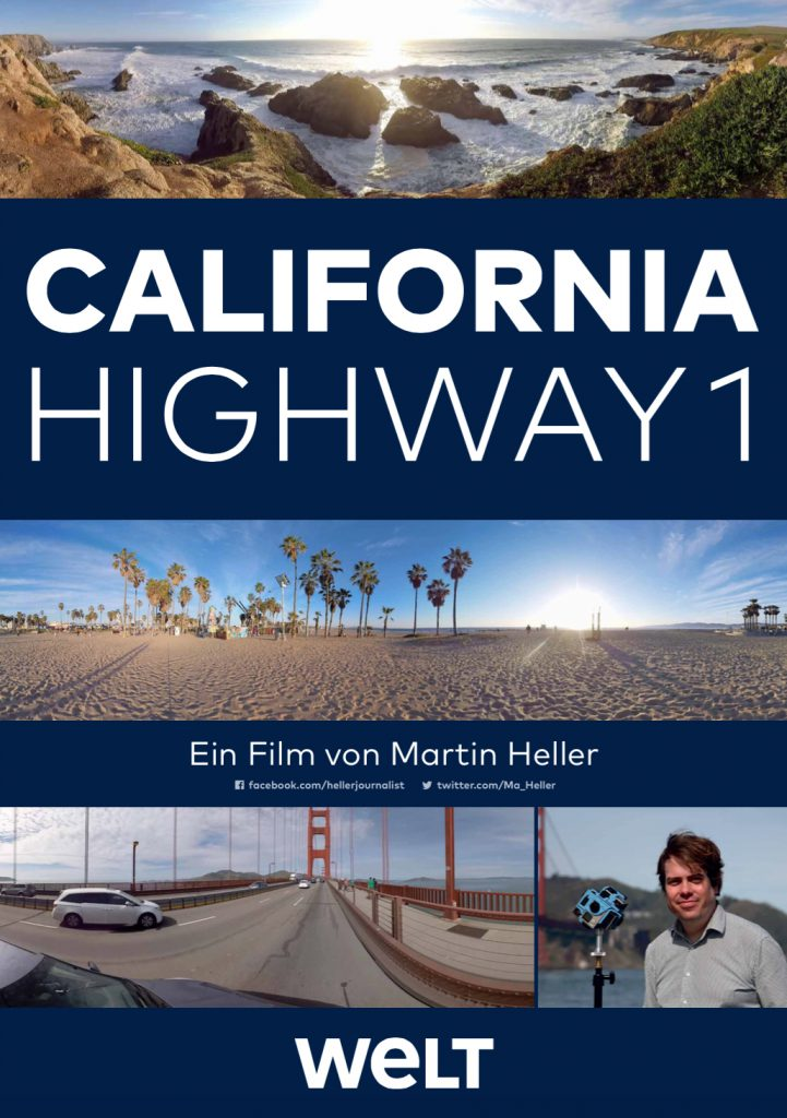 "Das Filmplakat zu ""California: Highway 1"""