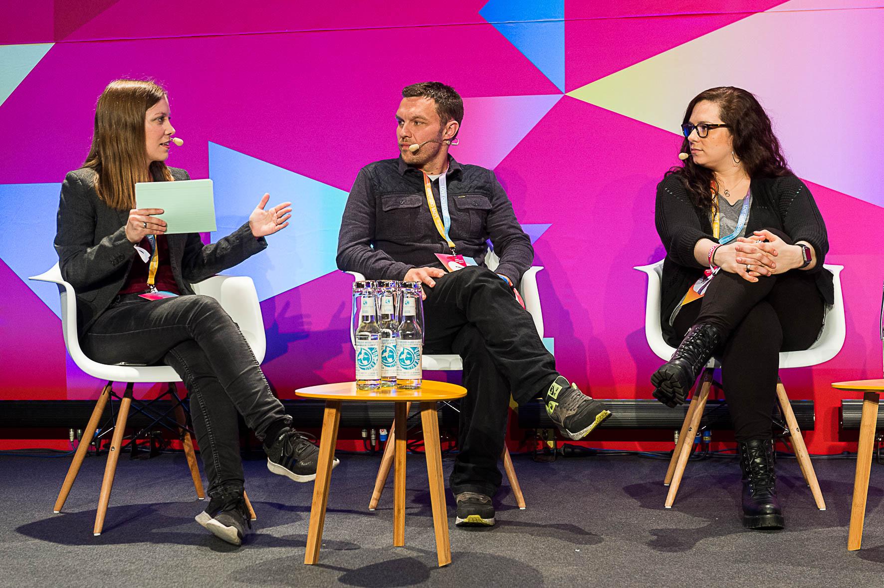 Susanne moderiert auf der re:publica 2017 ein Panel.