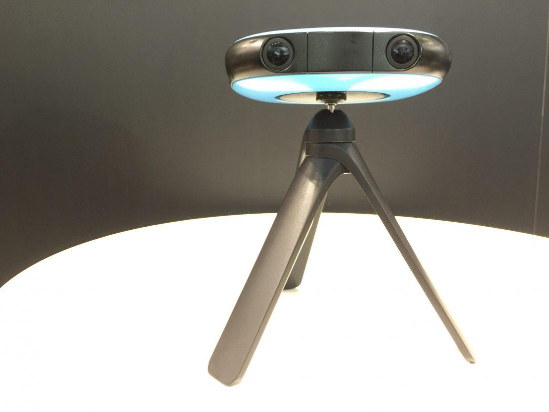Vuze 360°-Kamera mit 4K-Qualität und 3D-Bildern.