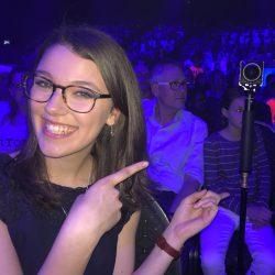 Leontina bei Deine Song 2017 mit 360°-Kamera