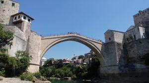 Die alte Brücke von Mostar