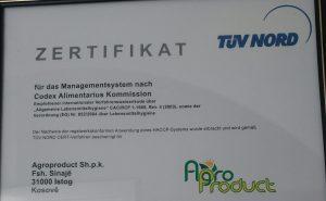 Die Kräuter von Agroproduct sind biozertifiziert - und haben sogar ein TÜV-Siegel.