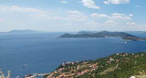 Blick über die Inseln Dalmatiens