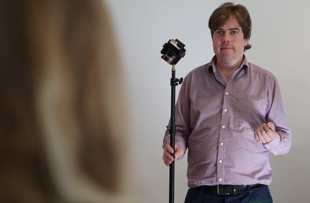 (IntoVR-Trainer Martin Heller gibt Tipps zum Umgang mit 360°-Kameras)