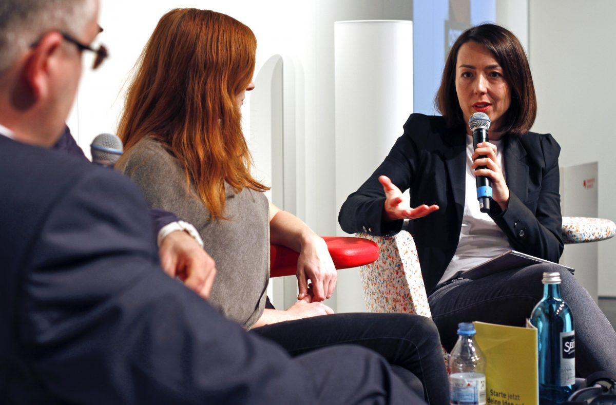 Sabina Ciechowski, Marketing-Chefin des Verlags Rowohlt
