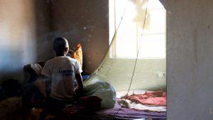 Oxla kam vor 10 Jahren zu Susann nach Ghanzi, nachdem ihre Eltern starben.