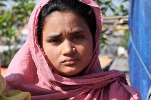 Die 18-jährige Almasia findet keinen Frieden - auch wenn sie hier erstmal in Sicherheit ist.