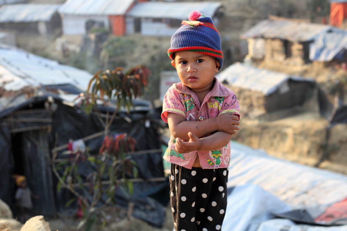 NGOs schätzen, dass etwa 60 Prozent aller Rohingya im Camp Kinder sind.