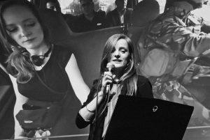 Christiane Wittenbecher bei HannoVR (Foto: Jana Kammerhoff)