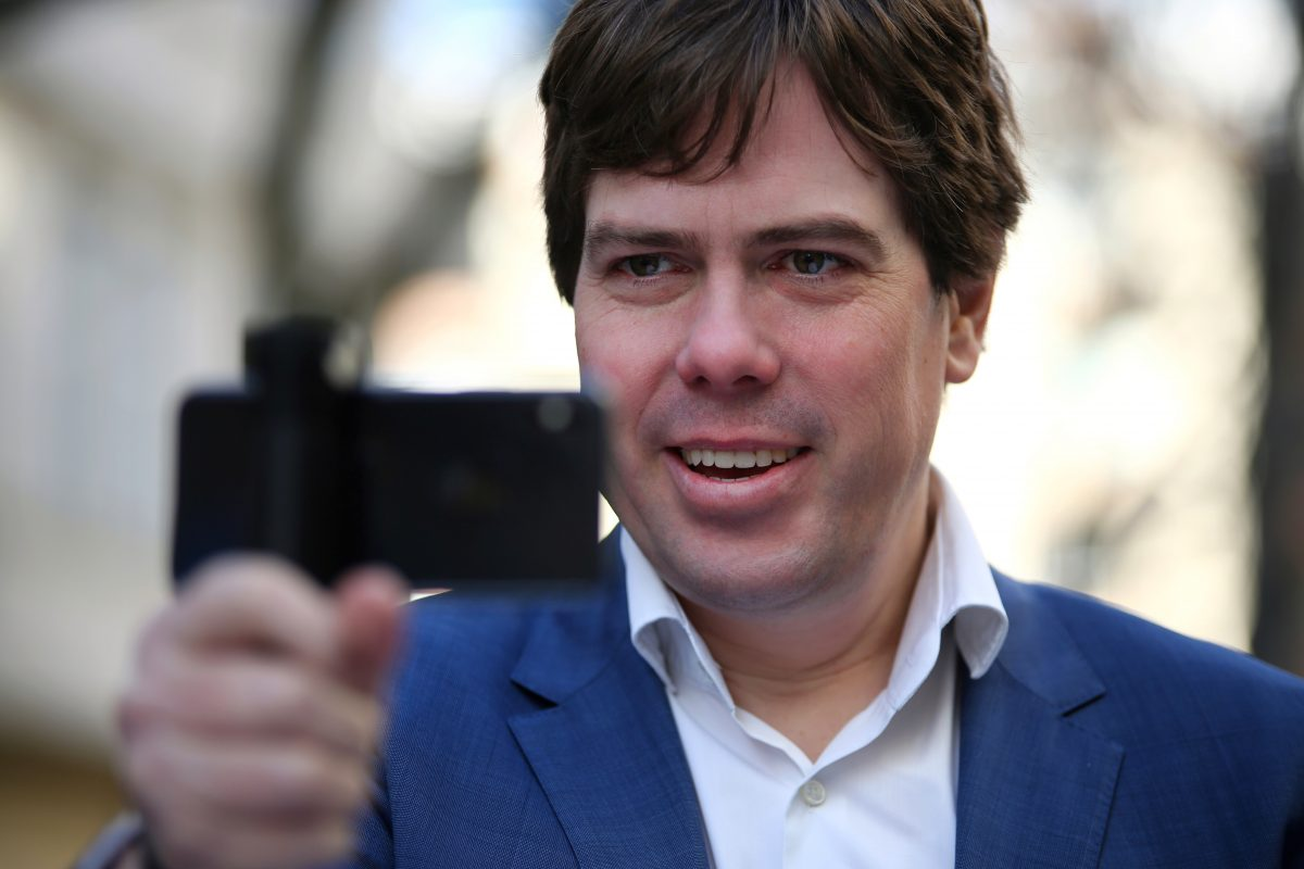 Videojournalist Martin Heller (Foto: Maria Menzel, IntoVR)