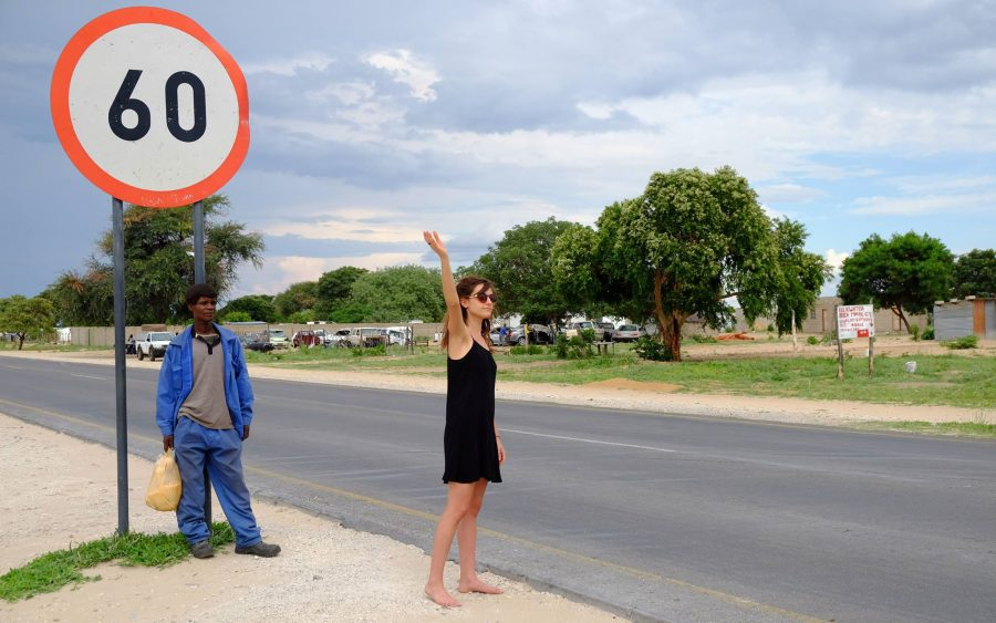 Sarah Lehnert in Botswana