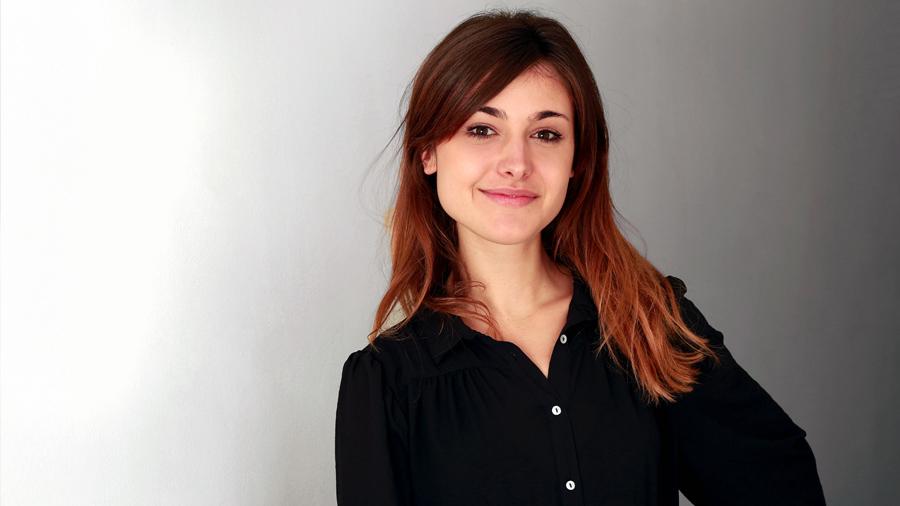 Videojournalistin Sarah Lehnert
