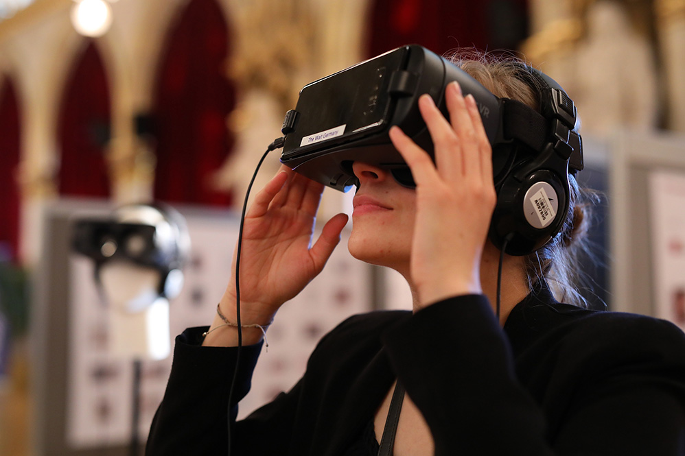 VR-Bereich beim European Newspaper Congress (Foto ©: European Newspaper Congress)