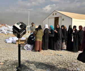 Freedom360 im Einsatz für BlickVR in Irak.