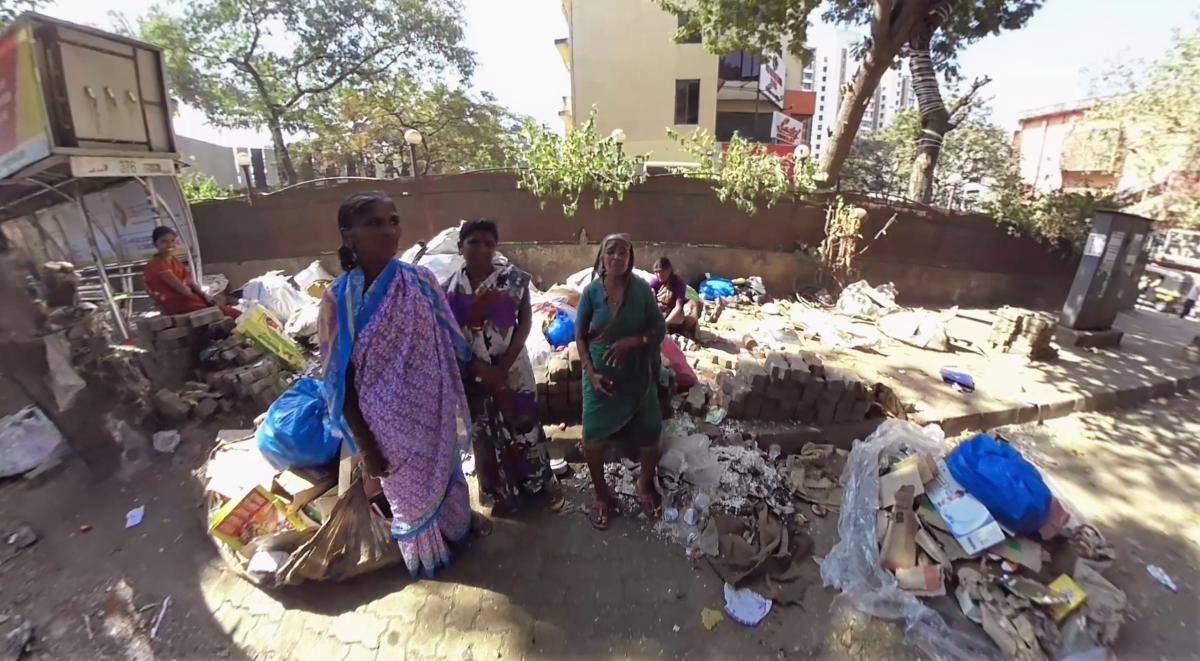 Müllsammlerinnen in Indien
