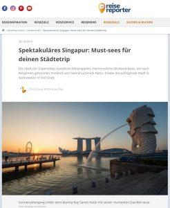 IntoVR 360°-Video aus Singapur bei Reisereporter