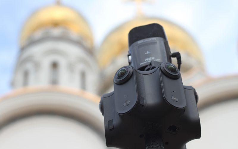 Kandao Obsidian bei Dreharbeiten im Mai 2018 in Russland