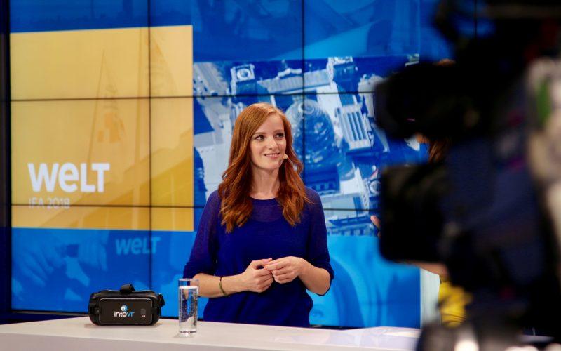Storytelling in 360°: Christiane Wittenbecher bei der IFA 2018