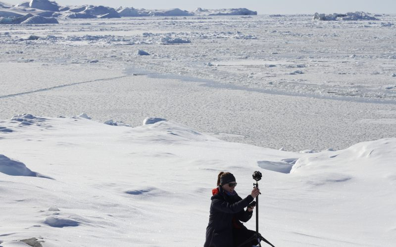 IntoVR Grönland 360 Video Maria Menzel