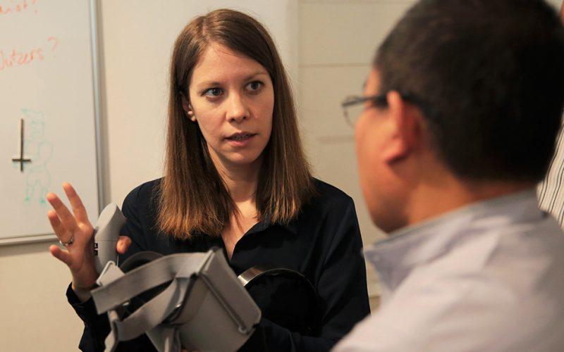 Susanne Dickel im Gespräch über VR