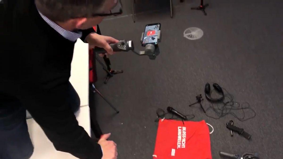 Die Arbeit mit Gimbals sollte man üben, aber der Aufwand lohnt sich. (Foto: Into VR & Video GmbH)