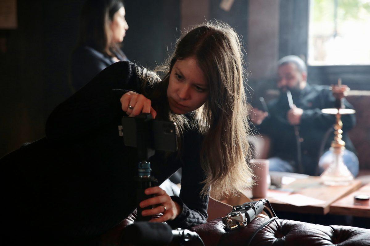 Beim Dreh mit dem iPhone 11 verwendet Susanne Höb die App Filmic Pro. (Foto: Into VR & Video)