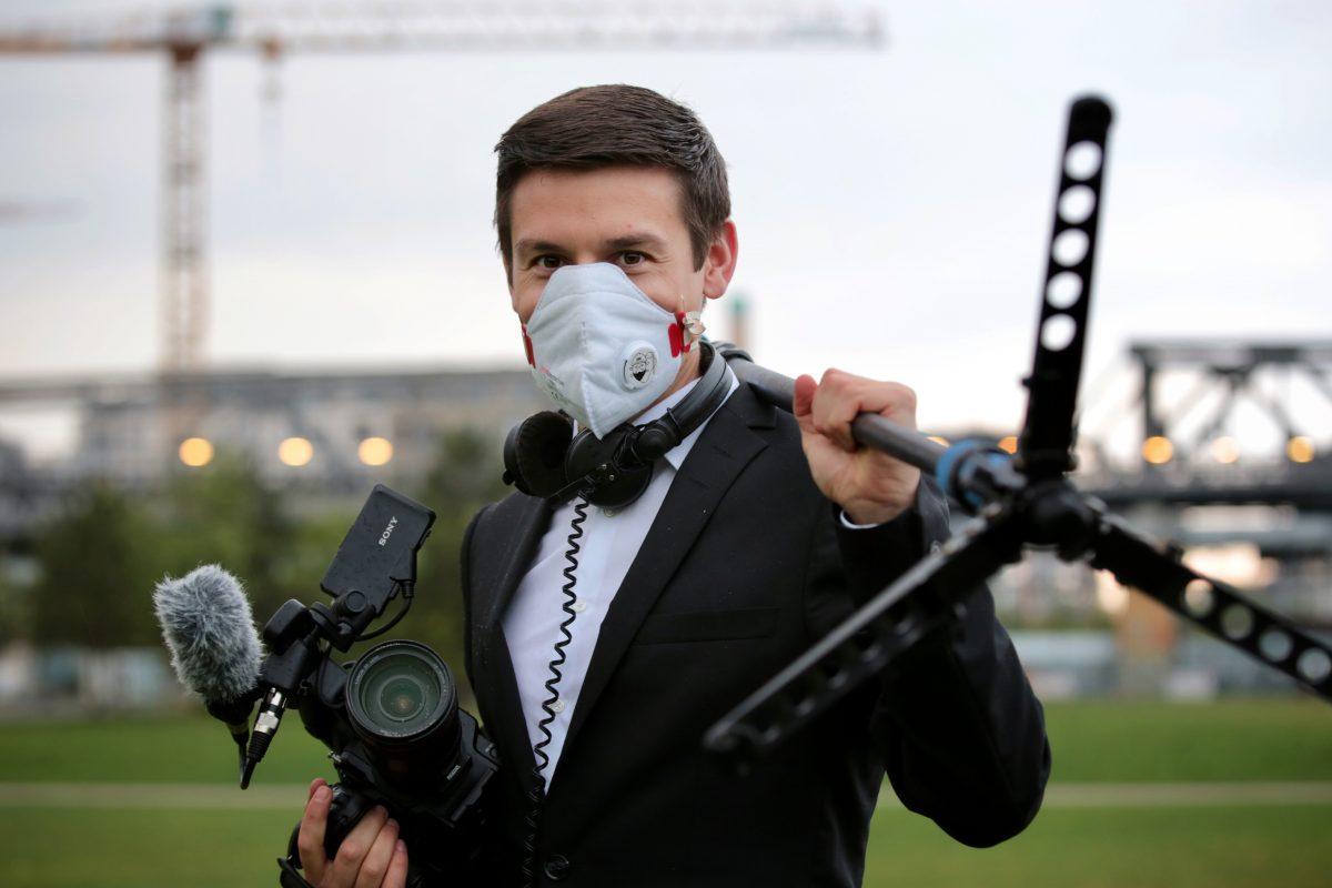 Videojournalist Clemens Himke, Into VR & Video GmbH (Quelle: Martin Heller, IntoVR.de)