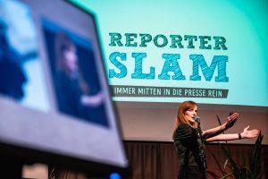 Kuchenstücke, eine zerschnittene Showbühne, Versteckspiel im Irak und vieles mehr: Christiane Wittenbecher on stage